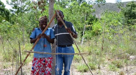 Haiti -  Waldgärten: Neues Fundament für Haiti