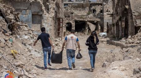 Irak / Libanon / Syrien - Flüchtlingsarbeit im Nahen Osten